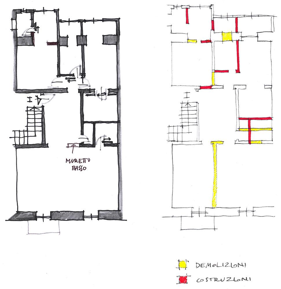 progetto casa solo muri on line