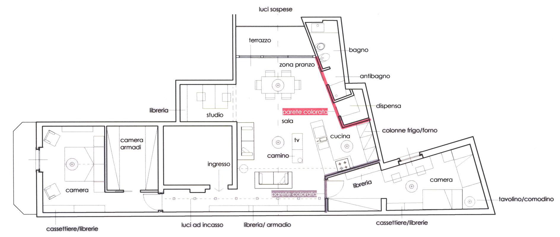 architetto progetta casa