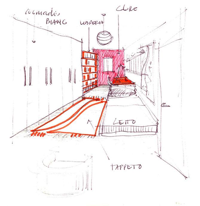 architetto progetta interni