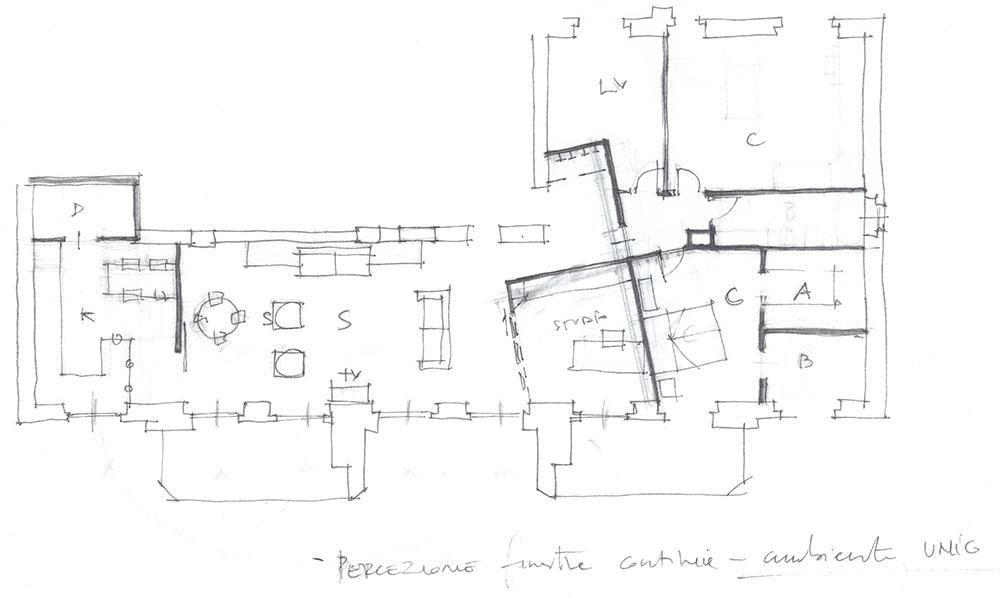 progetto casa bozzetto