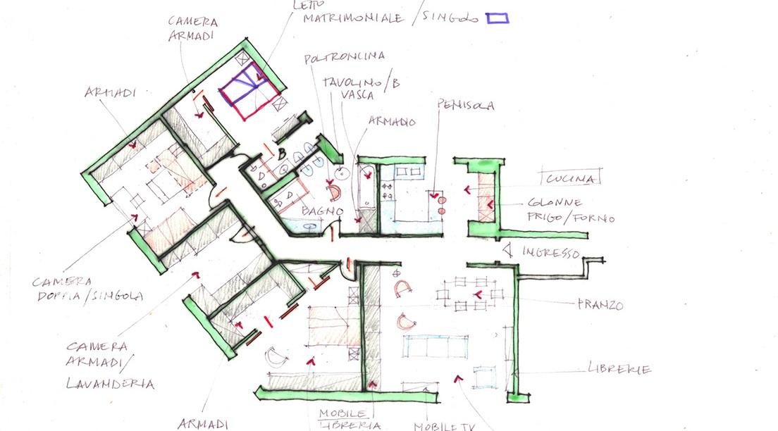 architetti progettano idee di casa
