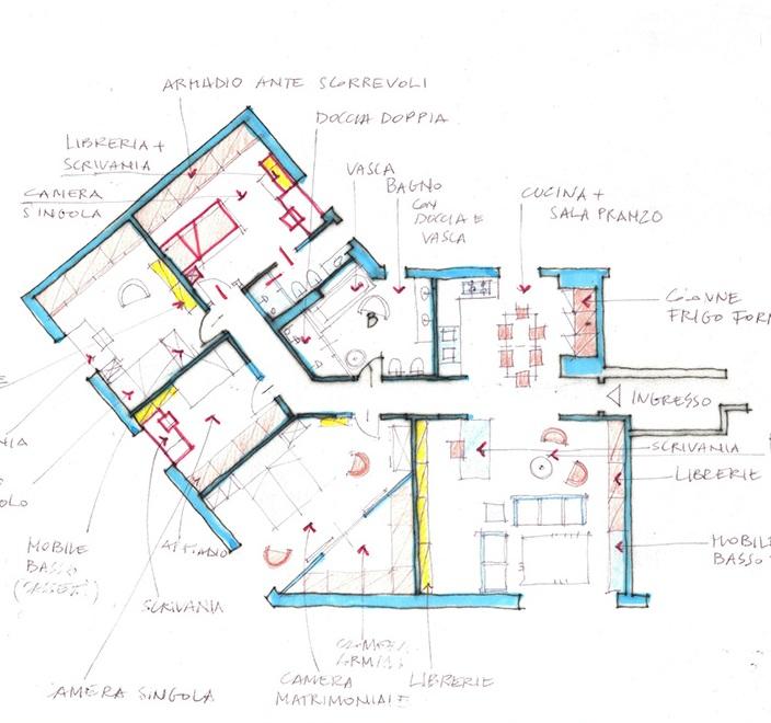 progetto di casa on line