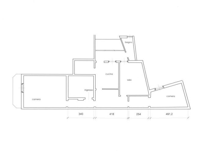 invia la piantina della casa