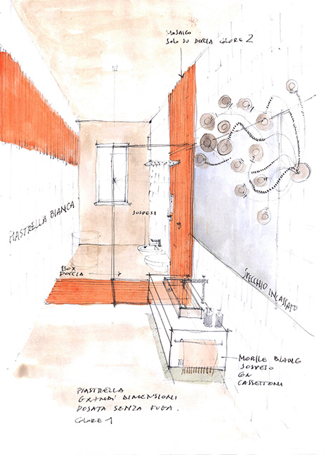 vista prospettica casa architetto on line